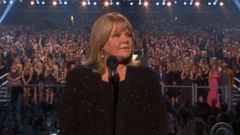 Taylor Swifts Mother Provokes Emotional Moment at ACMs