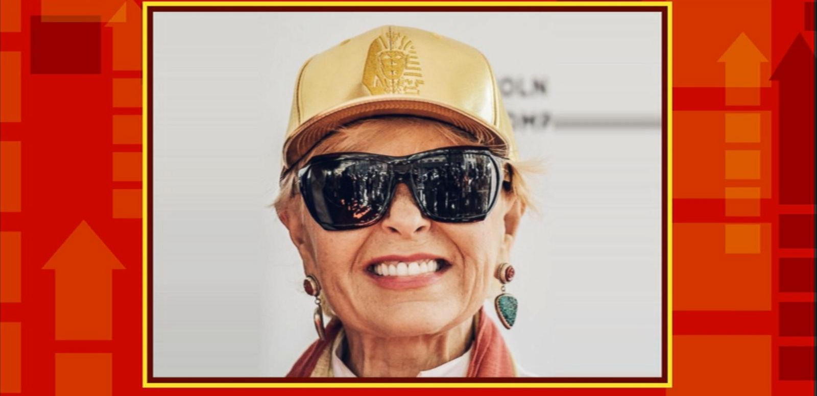 Roseanne Barr Reveals She's Losing Her Sight
