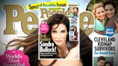 VIDEO: Sandra Bullock: People Magazines Most Beautiful Woman for 2015
