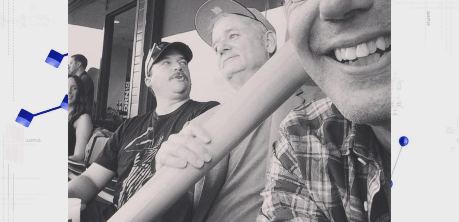 VIDEO: Bill Murray, Anthony Bourdain and Danny McBride Bro Out at the Ballpark