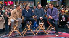 VIDEO: Avengers: Age of Ultron Cast Takes Over Times Square