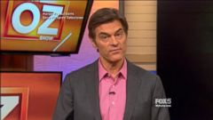 VIDEO: Dr. Oz Fights Back Against Critics