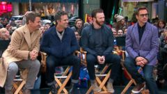 VIDEO: GMA 04/24/15: Avengers: Age of Ultron Cast Takes Over Times Square