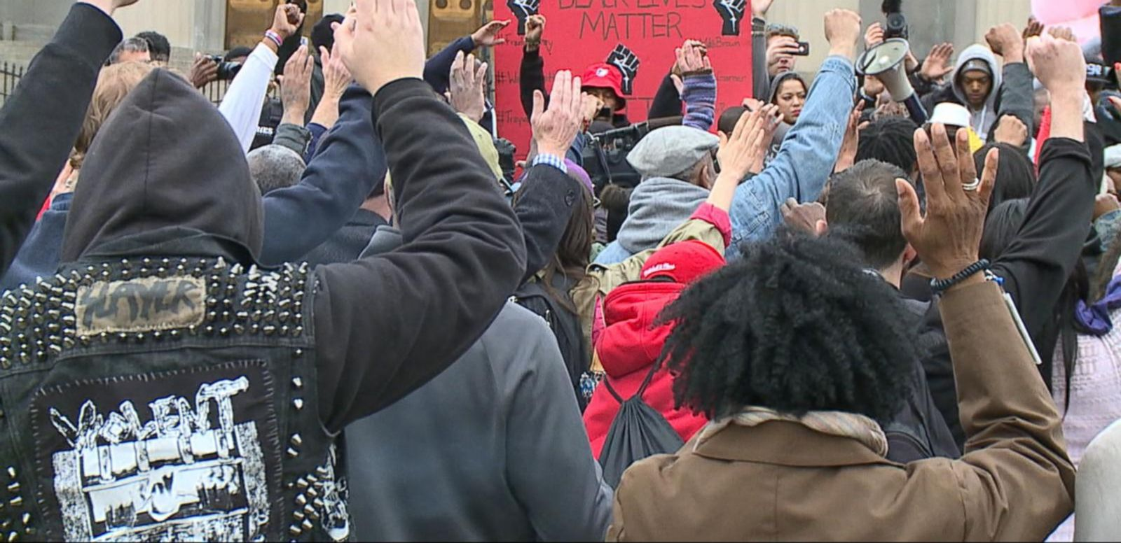 VIDEO: Demonstrators Protest Death of Freddie Grey