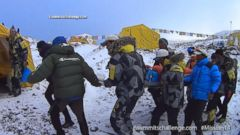 VIDEO: GMA 04/27/15: Climber Captures Dramatic Video of Everest Earthquake
