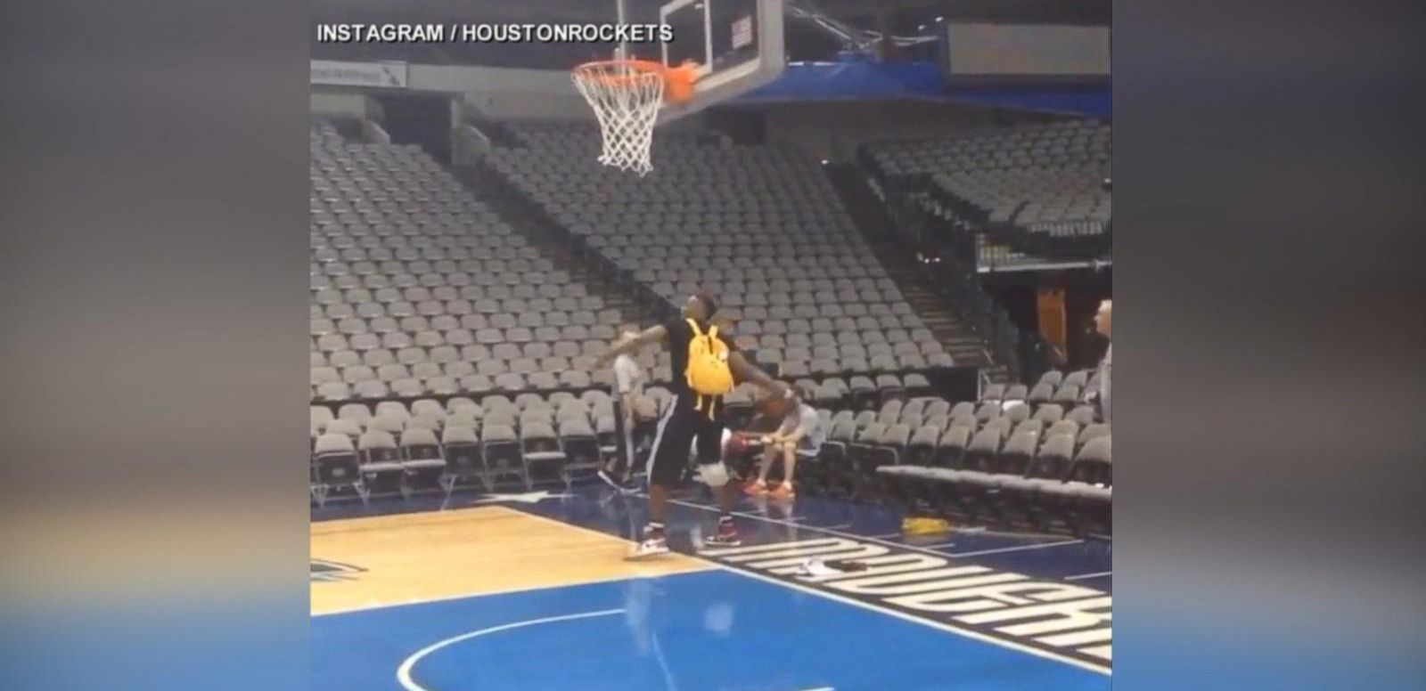 VIDEO: Lebron James, Dwight Howard Show Off on the Court