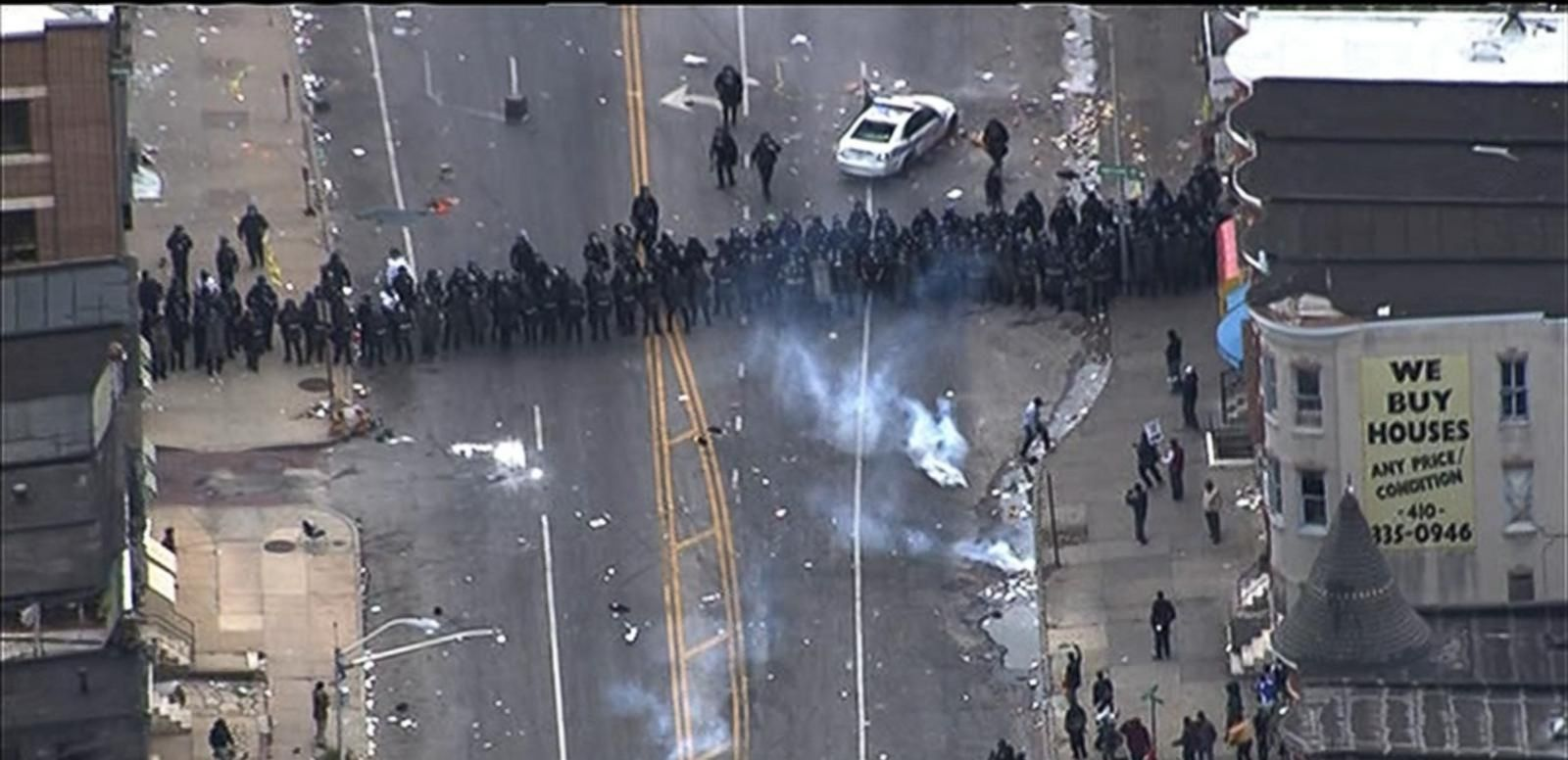 VIDEO: Freddie Gray's Family Calls for End to Baltimore Chaos