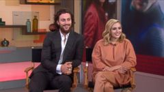 "VIDEO: Aaron Taylor-Johnson and Elizabeth Olsen Dish on ""Avengers: Age of Ultron"""