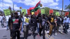 VIDEO: Victory Rally Held Following Baltimore Officers Arrests