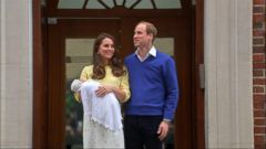 VIDEO: Kate Middleton left the hospital 10 hours after delivery.