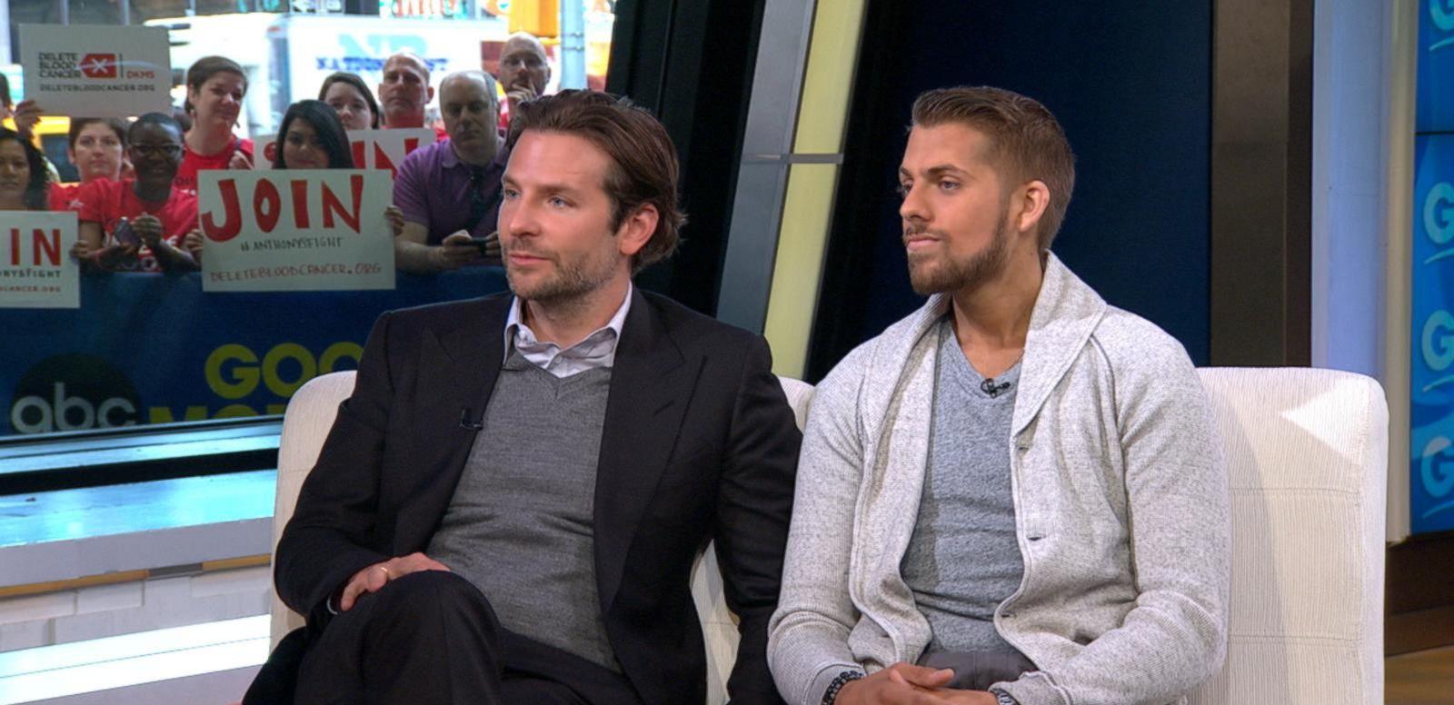 VIDEO: Bradley Cooper Raises Awareness of Bone Marrow Donation to Save Man's Life