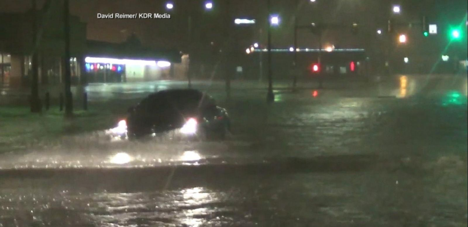 VIDEO: Southern US Endures Severe Weather System
