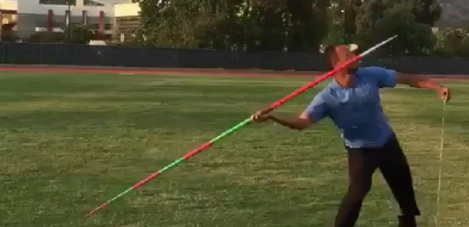 VIDEO: Olympian Uses Javelin Throw to Pull Daughter's Loose Tooth