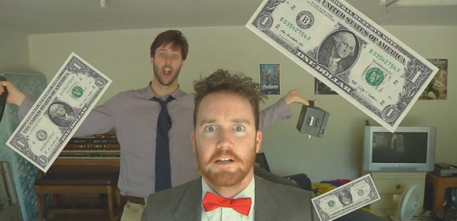VIDEO: Guys Made Epicly Cheesy $1 Garage Sale Commercial