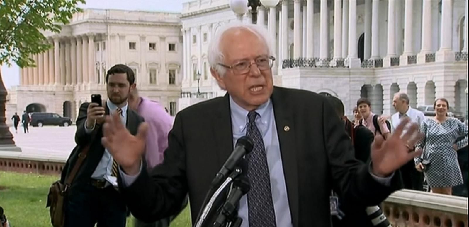 VIDEO: Take a Look at Bernie Sanders' 2016 Presidential Campaign
