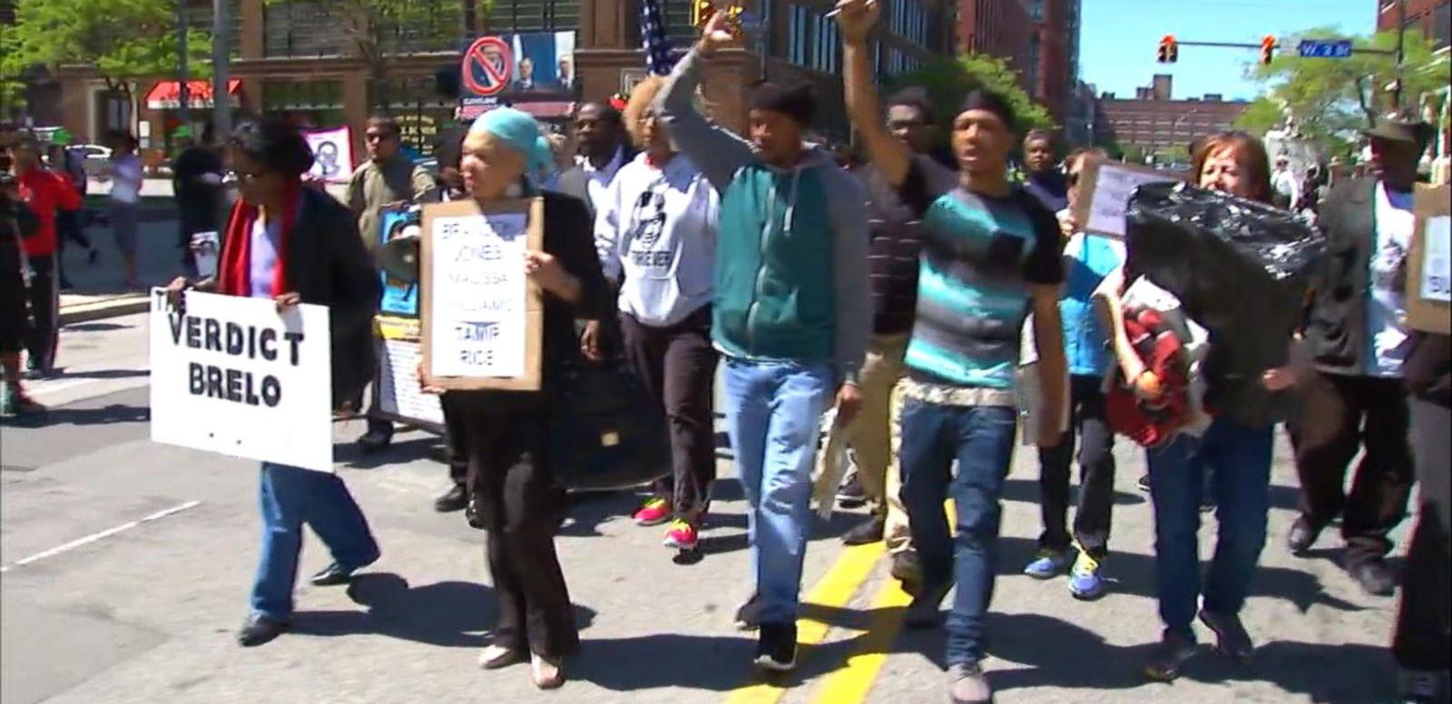 VIDEO: Demonstrators in Cleveland Arrested After Michael Brelo Verdict