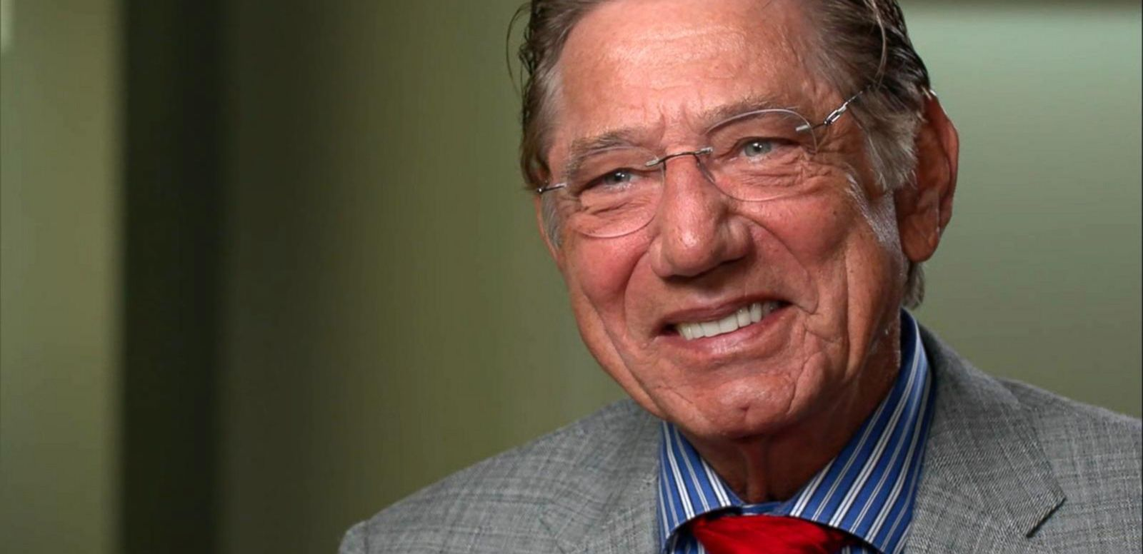 VIDEO: Joe Namath Talks About Brain Injury, Treatments