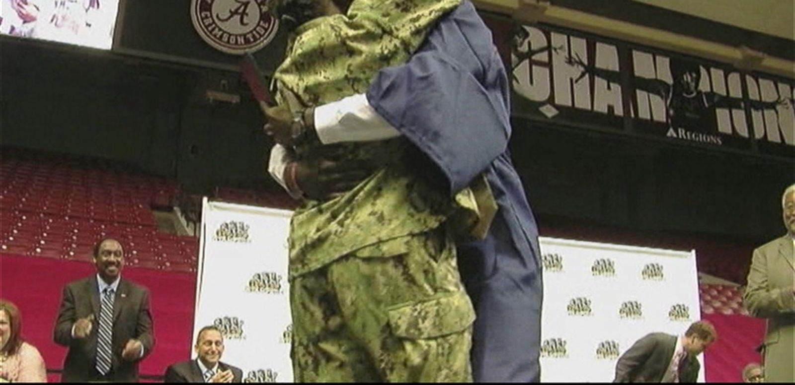 VIDEO: Navy Mom Surprises Son at His High School Graduation