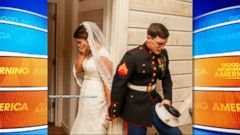VIDEO: A photo of a young Marine praying with his bride-to-be quickly went viral after it was posted on Facebook by the wedding photographer.