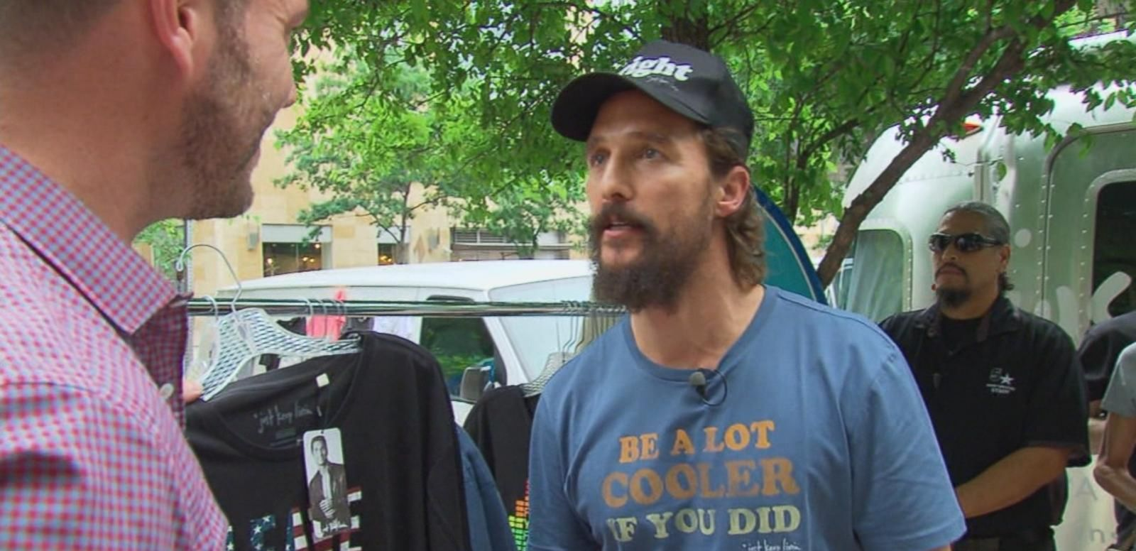 VIDEO: Matthew McConaughey Launches 'Just Keep Livin' Clothing Line