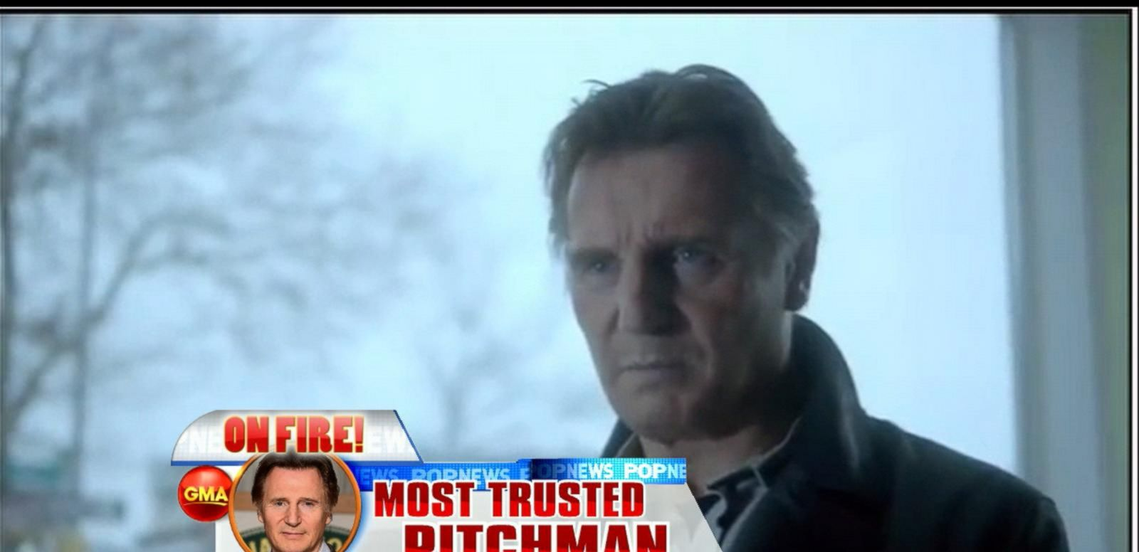 VIDEO: Liam Neeson Tops Nielson List of Most Influential Celebs in Advertising
