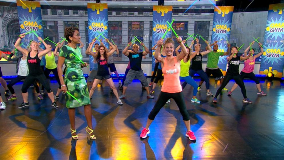 Pound Your Way to Fitness in Drum-Based Workout Class ...