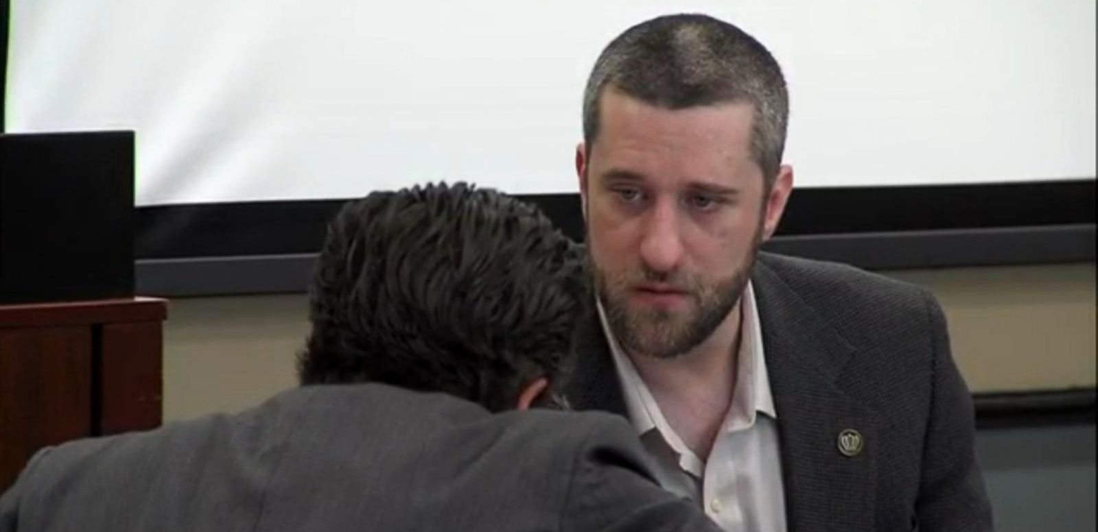 VIDEO: Dustin Diamond Appears in Court Facing Stabbing Charges