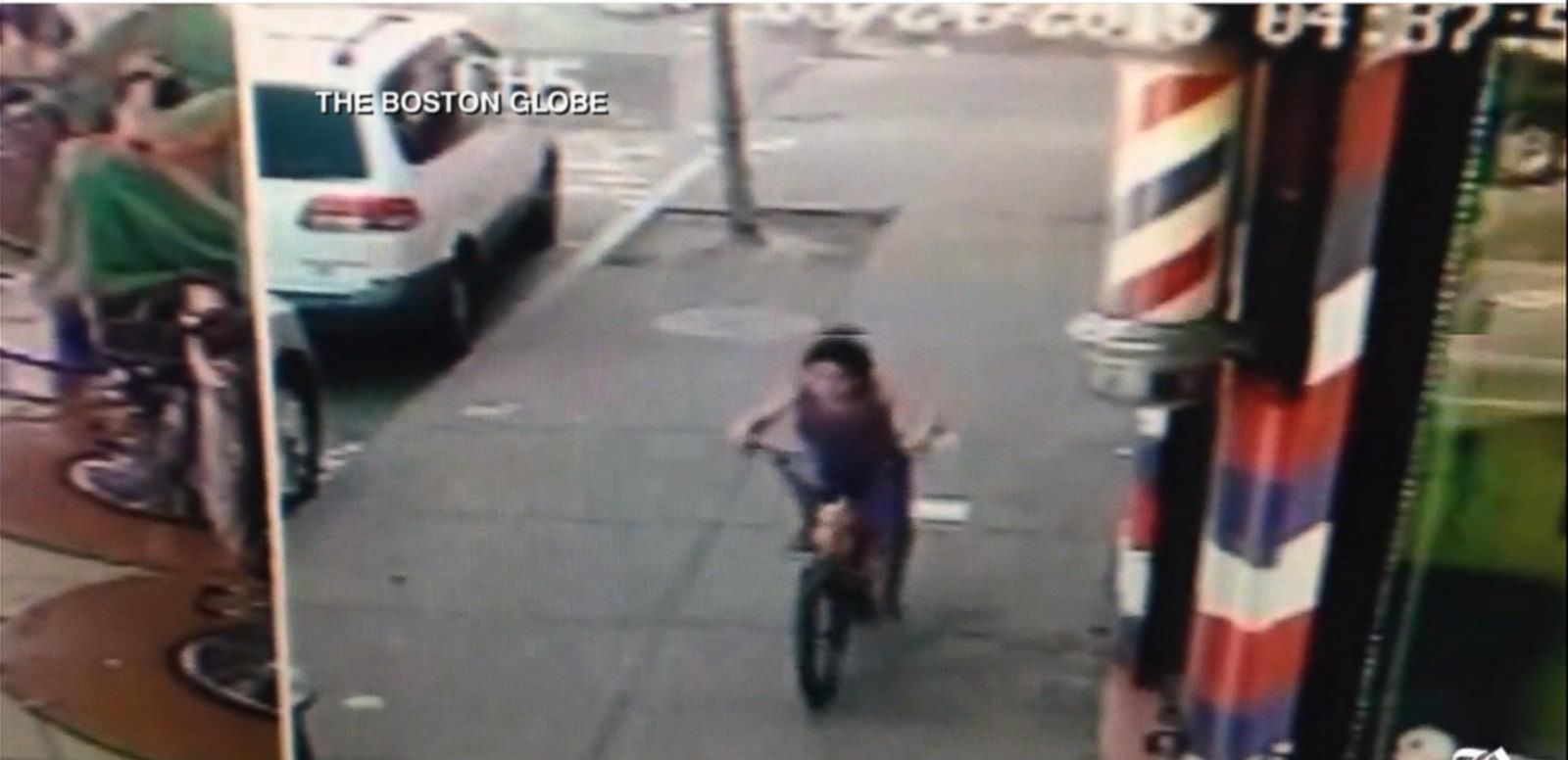 VIDEO: Boy, 7, Shot Riding His Bike in Boston