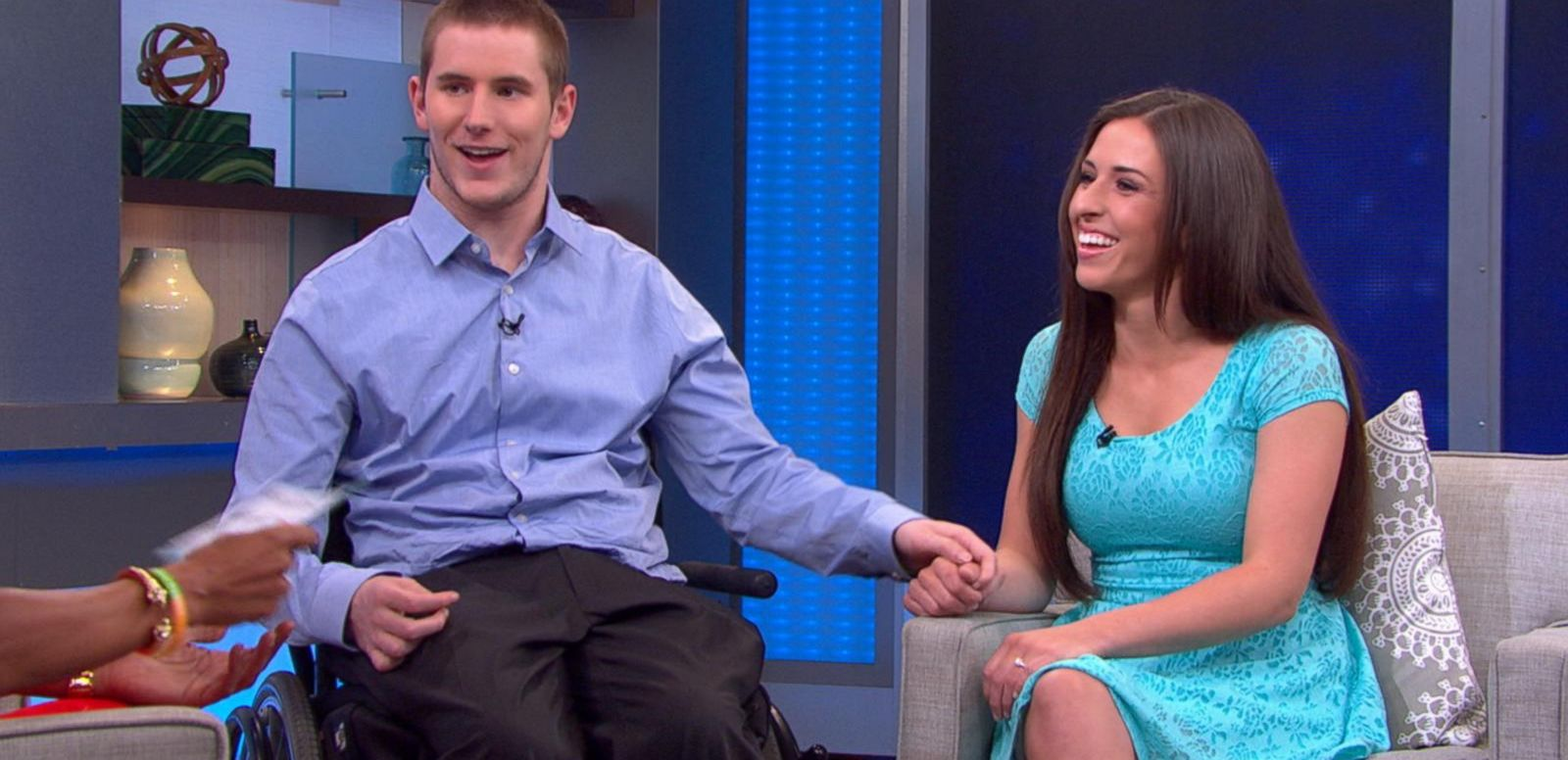 VIDEO: Injured Student Walks at Graduation for the 1st Time in 4 Years