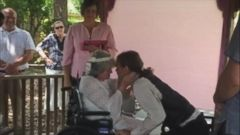 VIDEO: Debbie Rivera, 54, and John Whaley, 58 were married while in hospice.