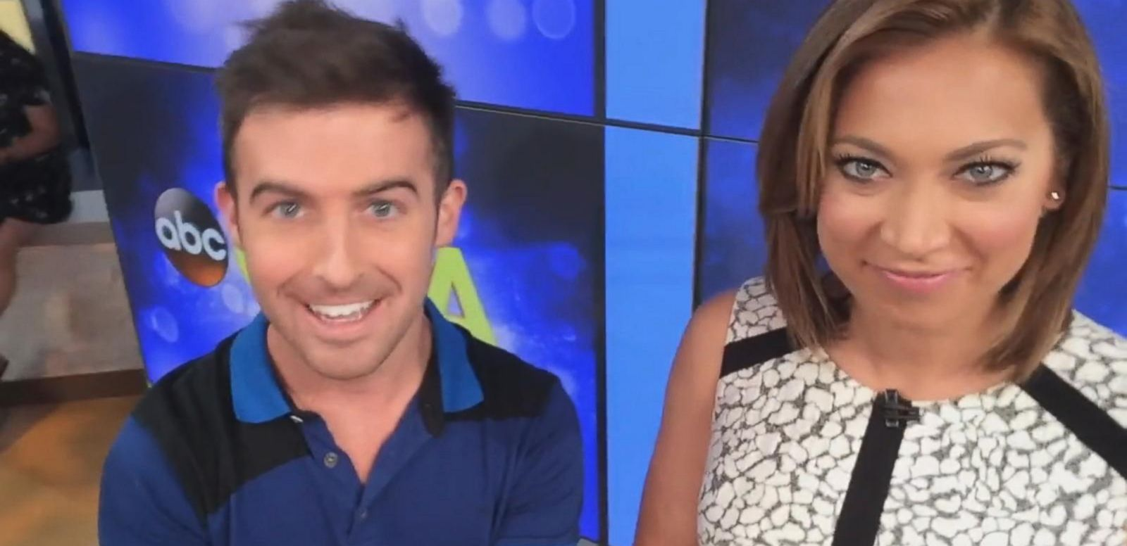 """VIDEO: Find out who Ginger loves to follow on Twitter and what exactly is the """"GMA"""" anchor race."""