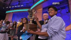 VIDEO: Scripps Crowns 2 Spelling Bee Champs for Second Year in a Row