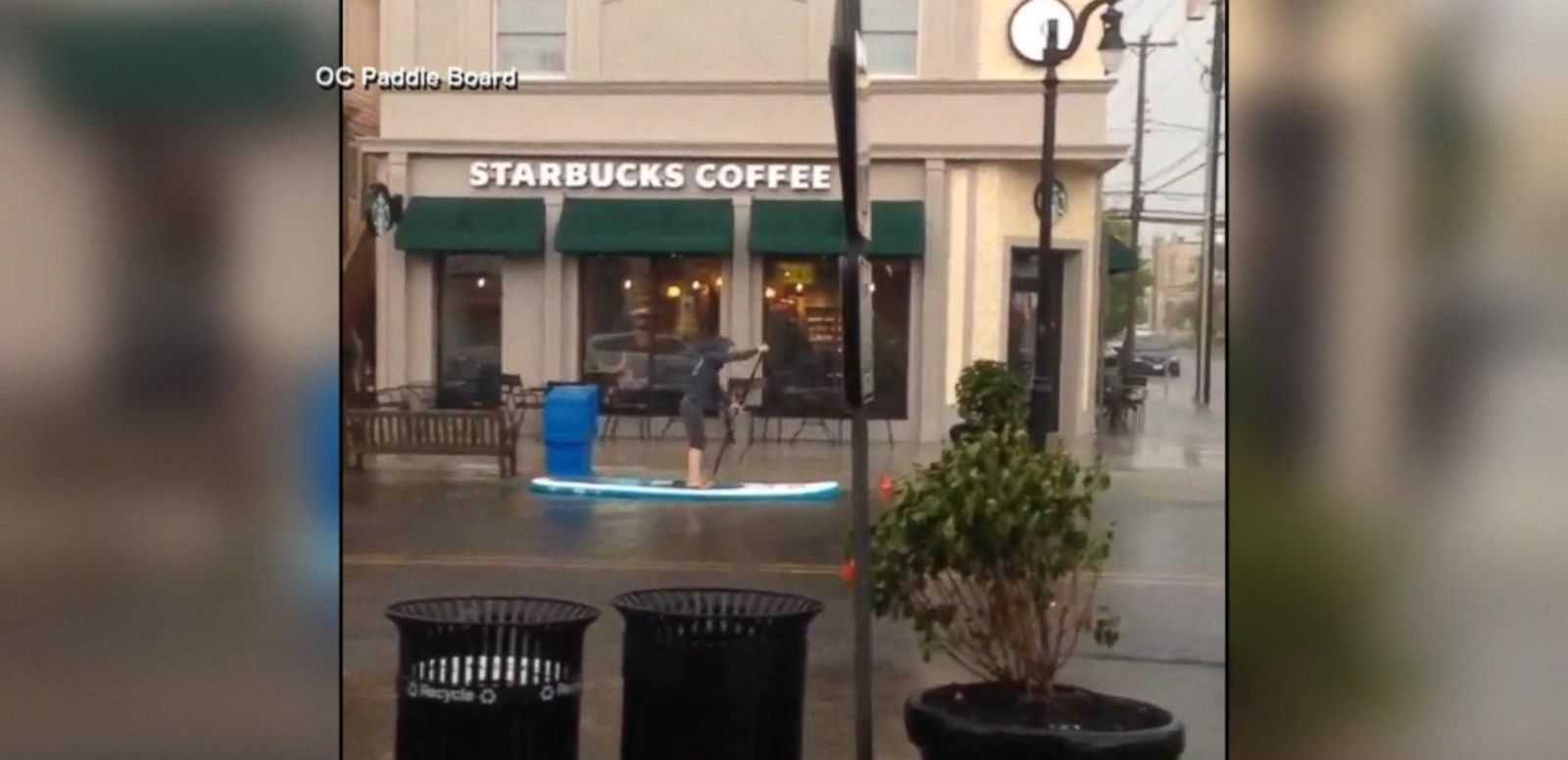 VIDEO: East Coast Gets Its Taste of Flash Flooding