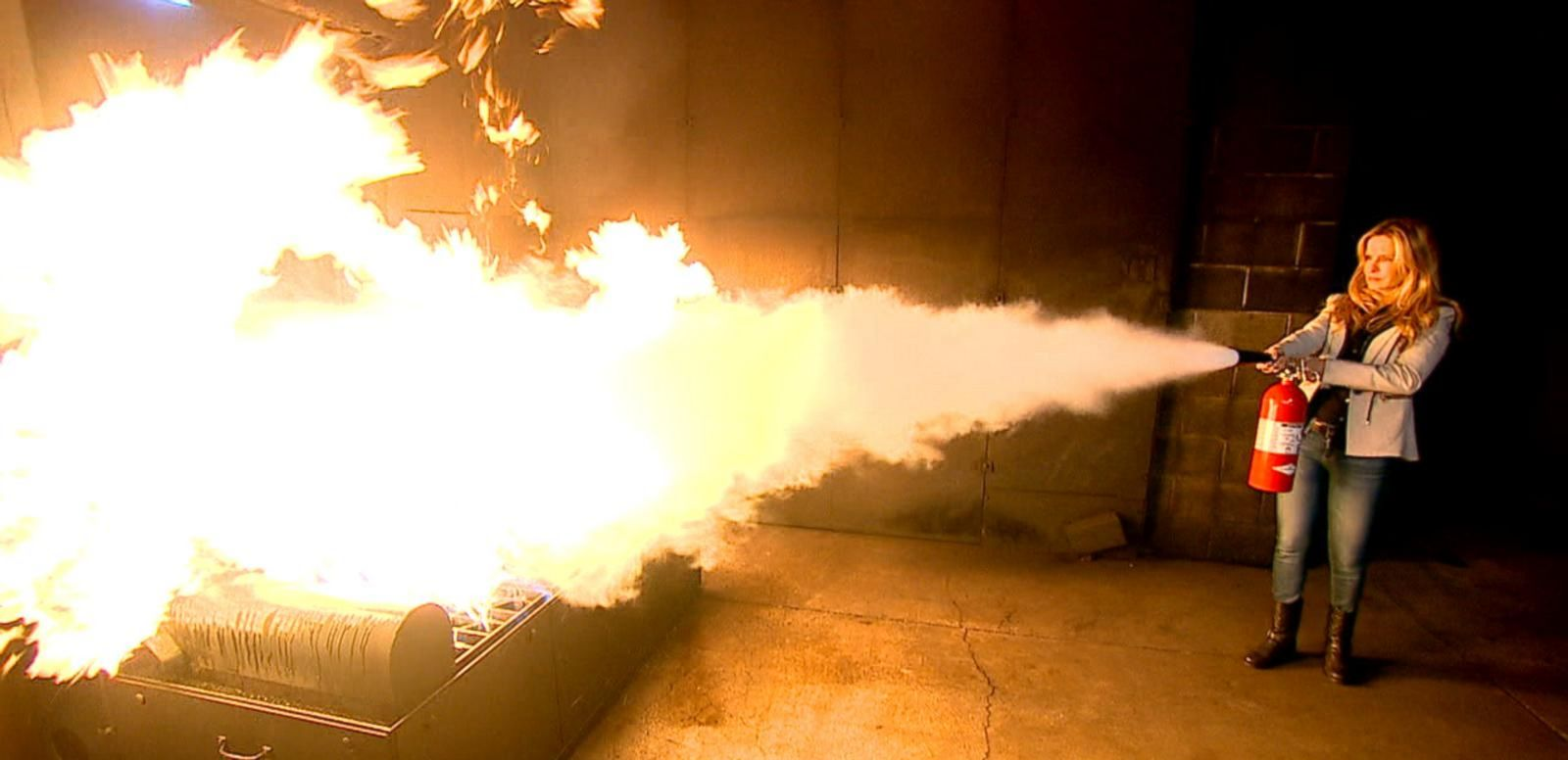 VIDEO: Knowing How to Use Your Fire Extinguisher Could Make All the Difference