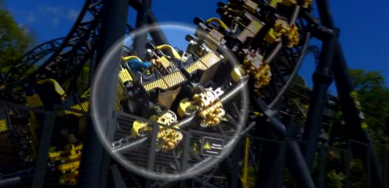 VIDEO: Roller Coaster Collision at London Amusement Park Leaves 4 Injured