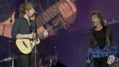 VIDEO: Ed Sheeran Performs Beast of Burden With The Rolling Stones
