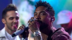 VIDEO: Miguel Performs His Latest Single Coffee Live in Times Square!