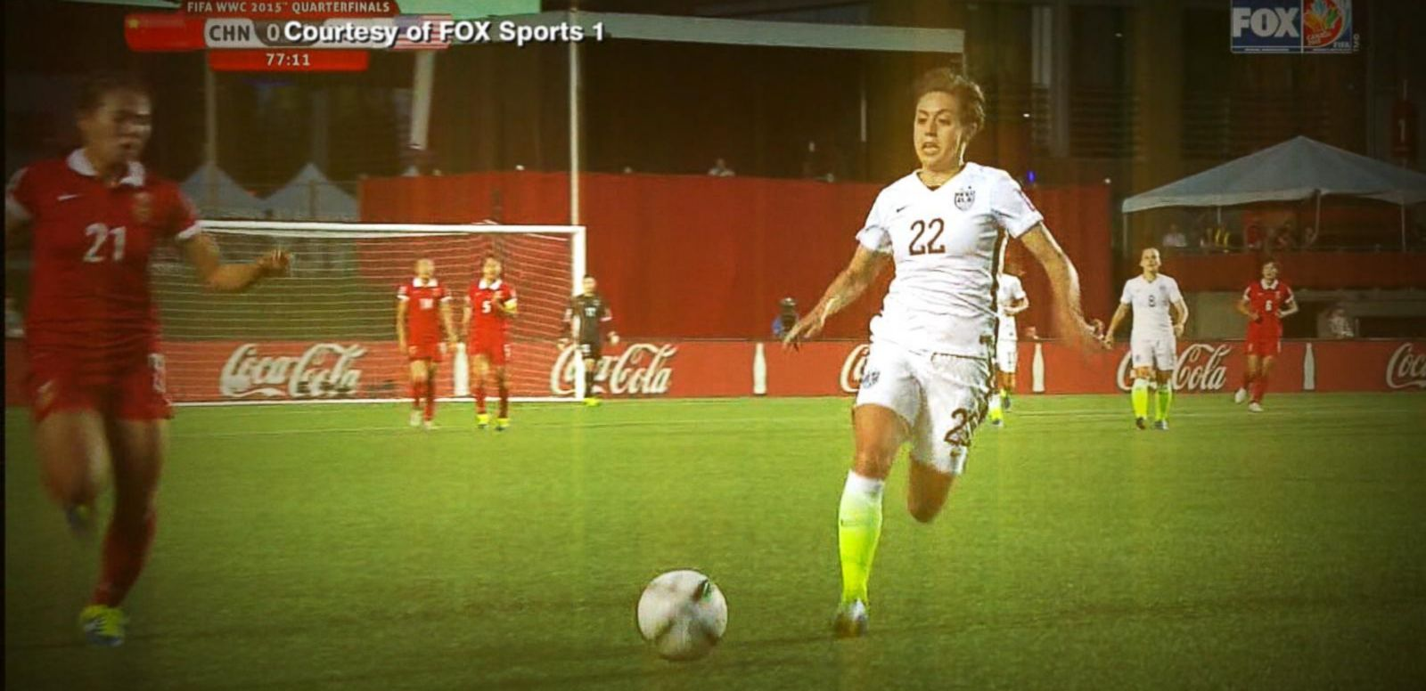 VIDEO: Team USA Faces Germany In Women's World Cup Semifinal