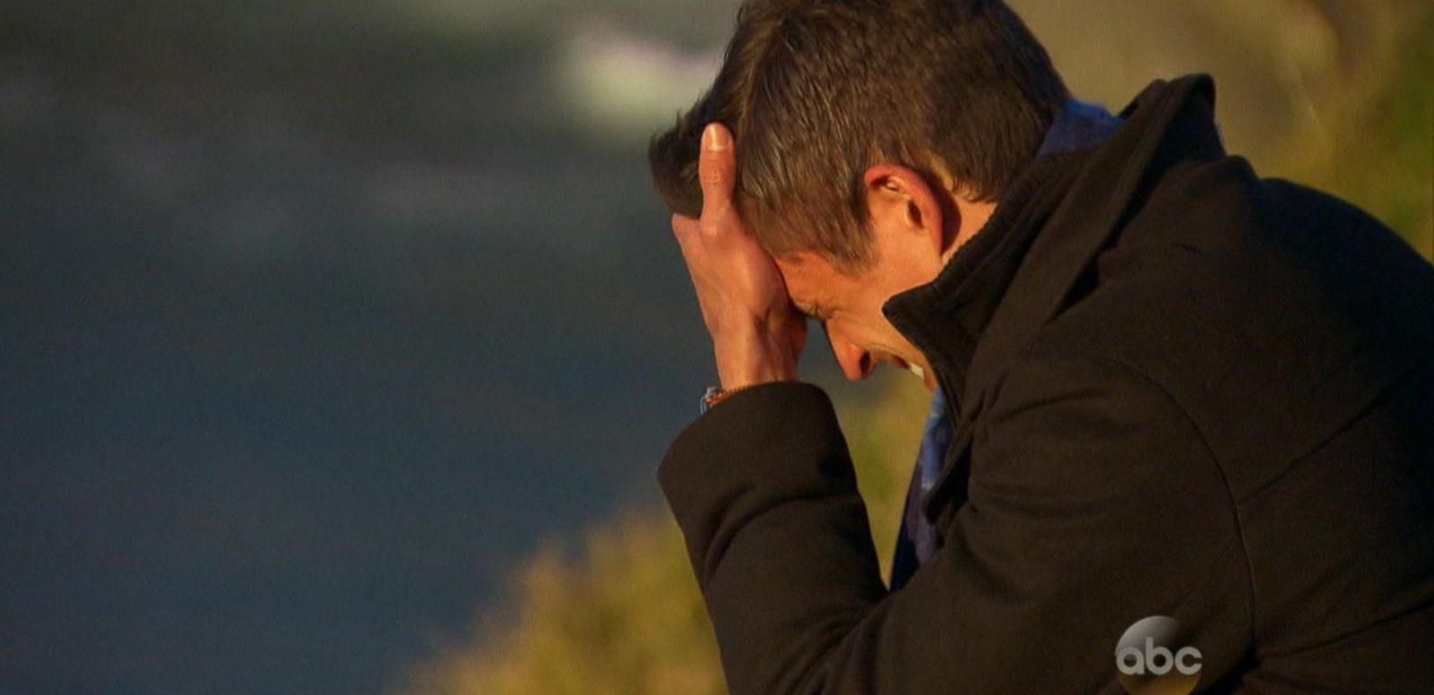 VIDEO: 'Bachelorette' Gives Emotional Goodbye to Chris 'Cupcake' at the Edge of a Cliff