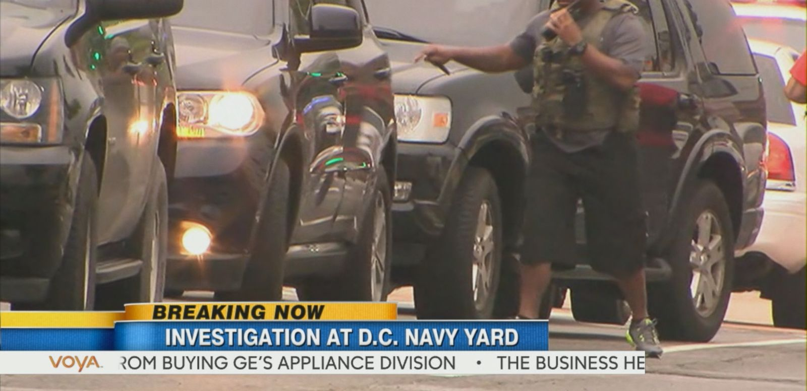 VIDEO: Washington Navy Yard on Lockdown After Reports of Active Shooter