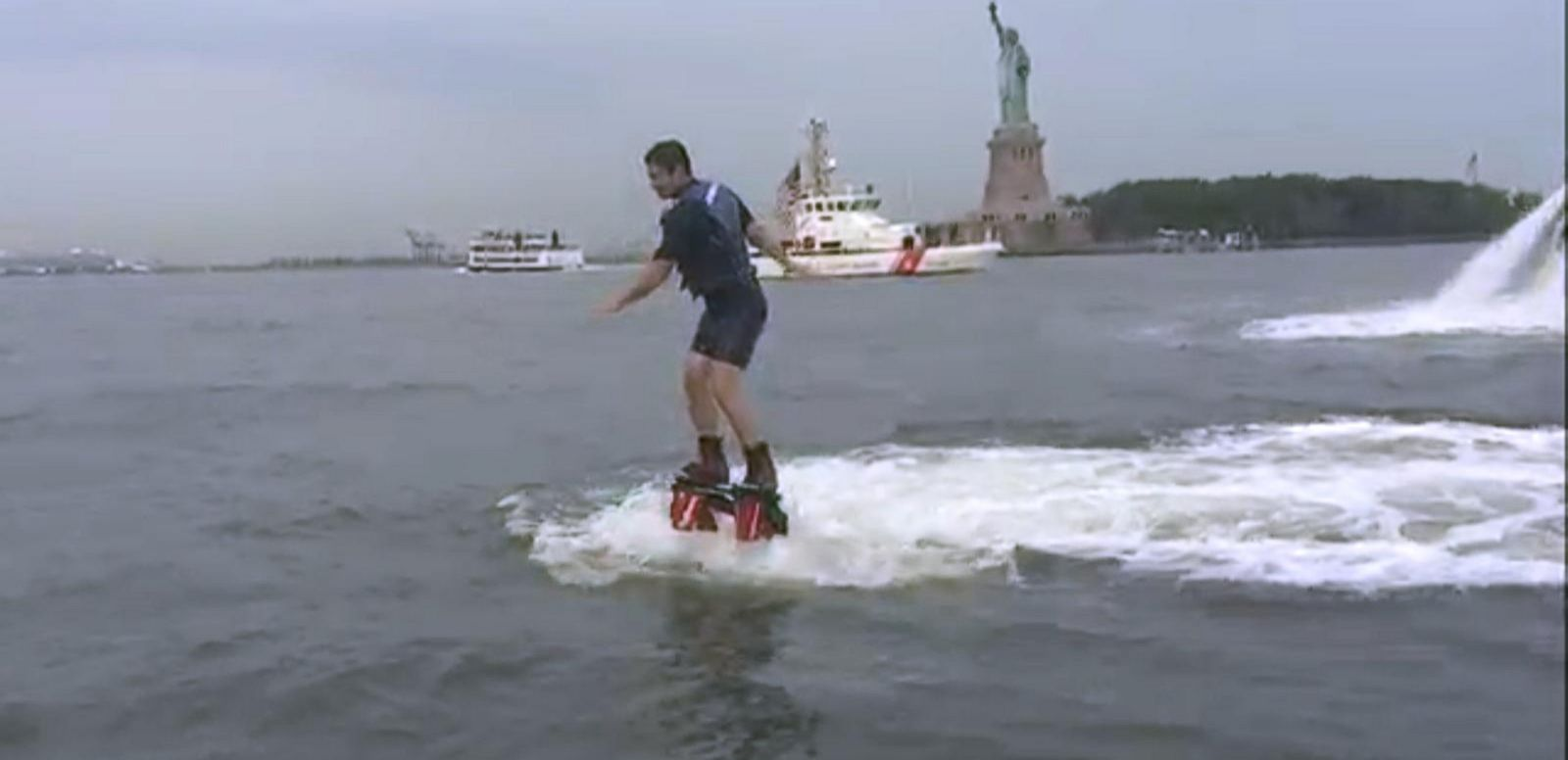 VIDEO: The Flyboard: An Extreme Way to Cool Down This Summer