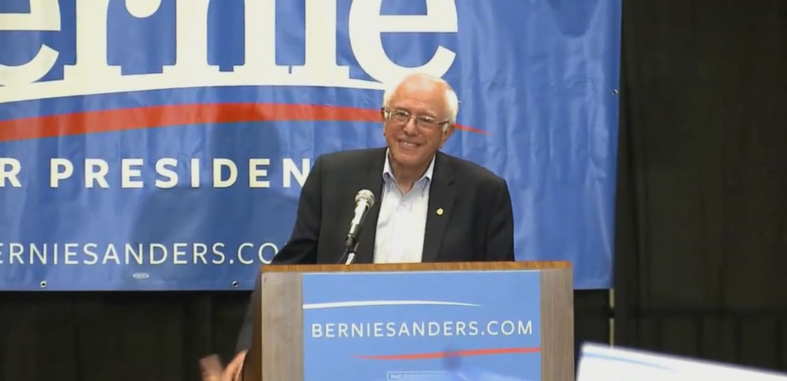 VIDEO: Bernie Sanders An Unlikely Source of Competition for Hillary Clinton