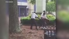 VIDEO: Video Captures Mall Security Guards Allegedly Beating Teen