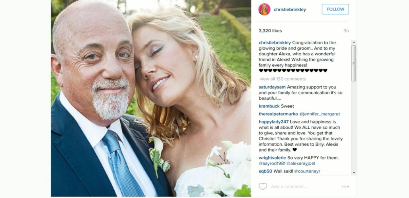 VIDEO: Billy Joel Gets Married Again on the 4th of July
