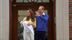 VIDEO: Baby Charlotte Elizabeth Diane Ready for Royal Christening