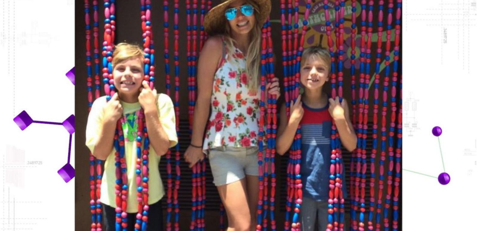 VIDEO: Britney Spears Recreates 'Oops! ... I Did It Again' Cover With Sons at Disneyland