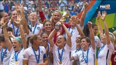 VIDEO: GMA 07/06/15: USA Womens Soccer Team Dominates Japan in World Cup Final