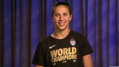 VIDEO: USA Womens Soccer Star Carli Lloyd on World Cup Win