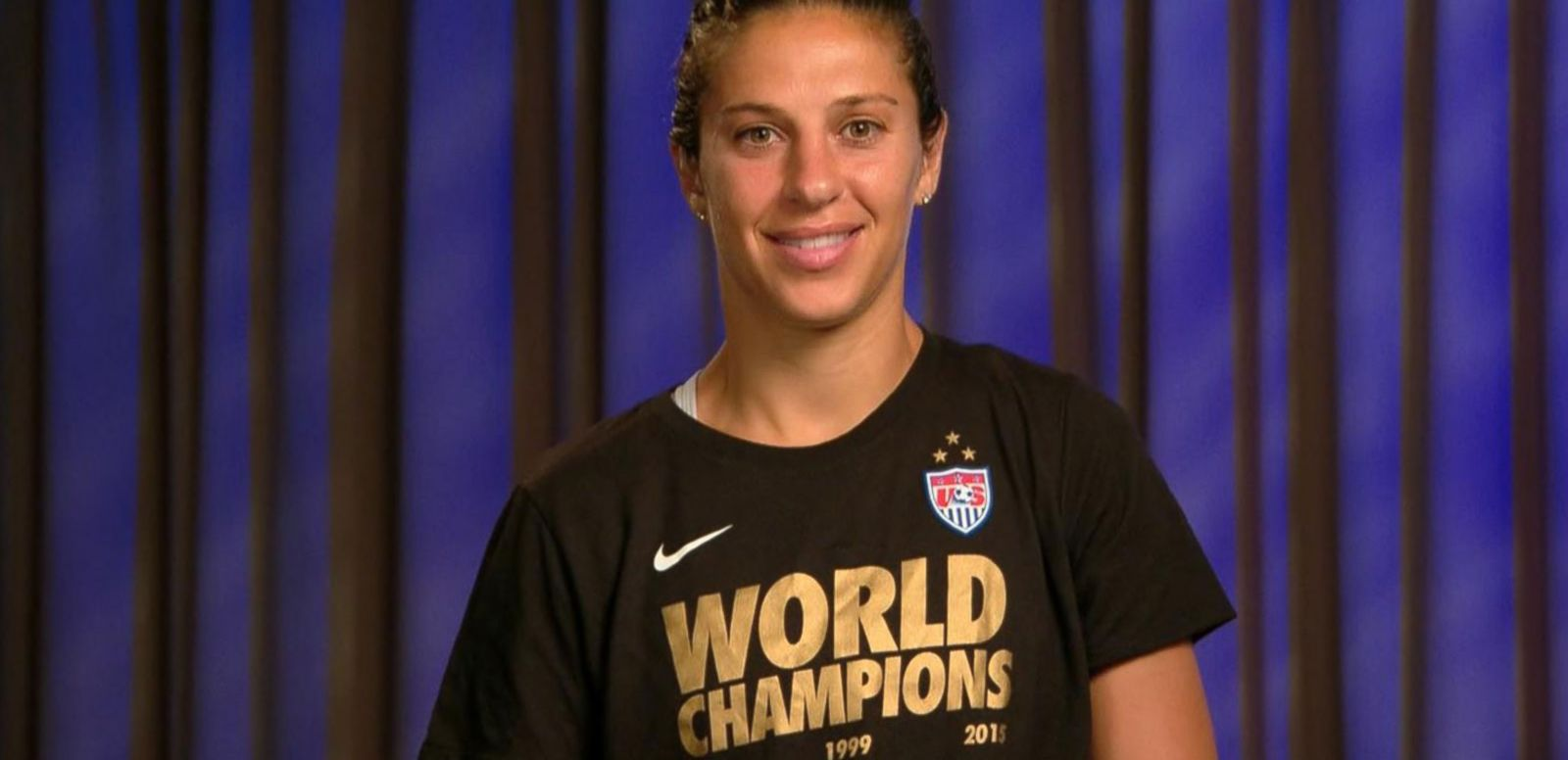 VIDEO: USA Women's Soccer Star Carli Lloyd on World Cup Win