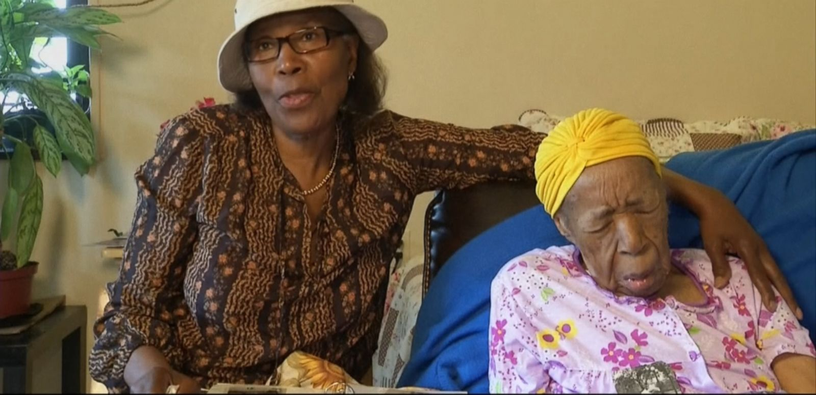 VIDEO: Susannah Mushatt Jones credits her long life on earth to plenty of sleep.